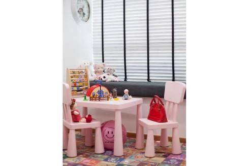 Minton Condo Interior Design Singapore: modern Nursery/kid's room by Posh Home