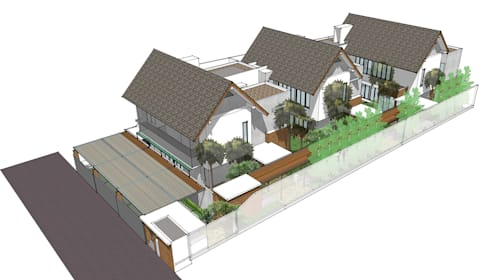 Cilandak Houses:   by Inspiratio Indonesia
