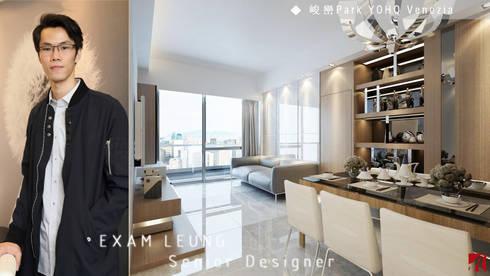 Park YOHO Venezia: classic Living room by Art Deco Design Ltd.