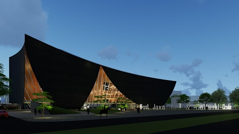 West Java Art & Cultural Centre (WJACC):   by Inspiratio Indonesia