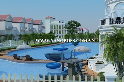 Resort Lào Cai:   by Công ty Cổ Phần Tập đoàn Nano Boss