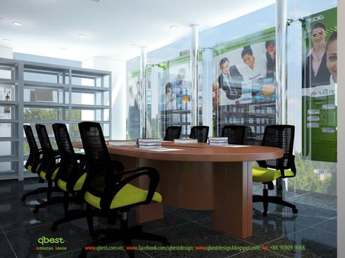 Phòng họp:   by Công ty TNHH Thiết Kế và Ứng Dụng QBEST