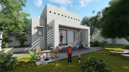 Casa Neira. Gorbea 2017: Casas de estilo moderno por AOG SPA