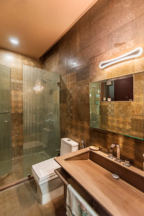 Toilet:  Offices & stores by VB Design Studio
