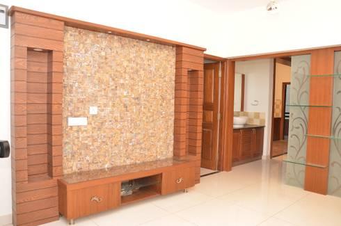 Complete Interiors For 3 BHK Apartment In Laa Moonstone Bangalore