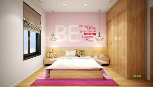 Phòng trẻ em:   by Công ty TNHH Thiết Kế và Ứng Dụng QBEST