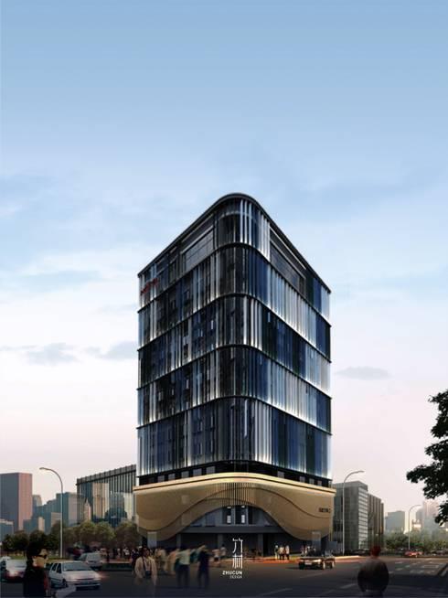 Aqua Hostel   舊建築改造:  飯店 by 竹村空間 Zhucun Design