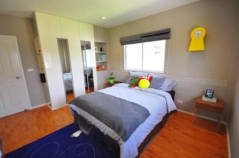 บ้านตัวอย่าง คาซ่าวิลล์ ราชพฤกษ์-พระราม5:  ตกแต่งภายใน by safehouse decoration