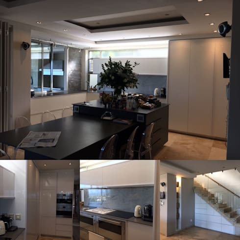 Kitchen Area: modern Kitchen by Cornerstone Projects
