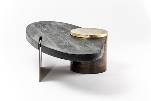 Primal coffee table: modern Living room by Egg Designs CC