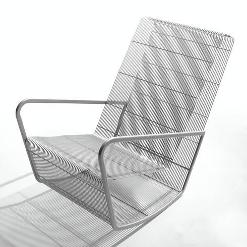 Wire rocker: modern Living room by Egg Designs CC