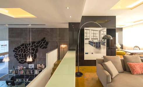 modern Living room by INAIN Interior Design