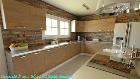 Kitchen Model side view:   by VAN TONDER NAUDÉ PROPERTY HOLDINGS (PTY) Ltd.