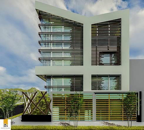 REMODELACION RESIDENCIA:  de estilo  por FRANCO CACERES / Arquitectos & Asociados