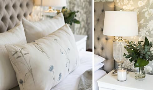Recent Decorating Projects—Joseph Avnon Interiors: classic Bedroom by Joseph Avnon Interiors