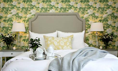 Recent Decorating Projects—Joseph Avnon Interiors: country Bedroom by Joseph Avnon Interiors