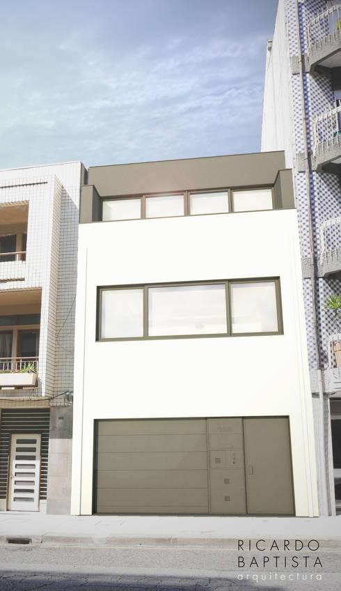 Constituição (em projecto): Casas modernas por Ricardo Baptista, Arquitecto