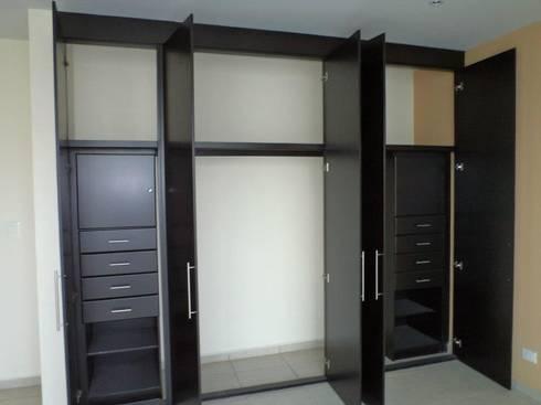 Closets De Dlr Arquitectura Dlr Dise 209 O En Madera Homify