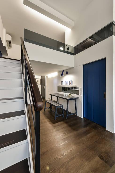 餐廳:  走廊 & 玄關 by 存果空間設計有限公司