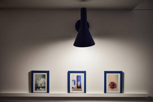 燈光灑落,閒適的午後時光:  藝術品 by 存果空間設計有限公司