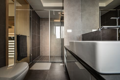 衛浴:  浴室 by 存果空間設計有限公司