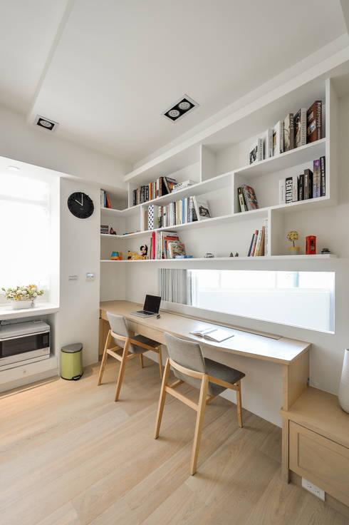 閱讀區:  書房/辦公室 by 存果空間設計有限公司