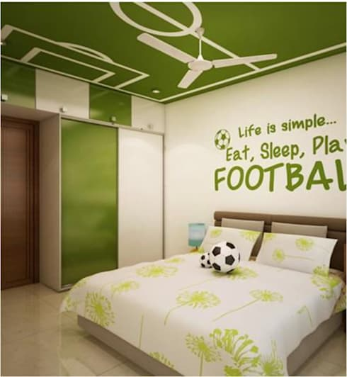 Some Previous Works:  Nursery/kid's room by BVM Intsol Pvt. Ltd.