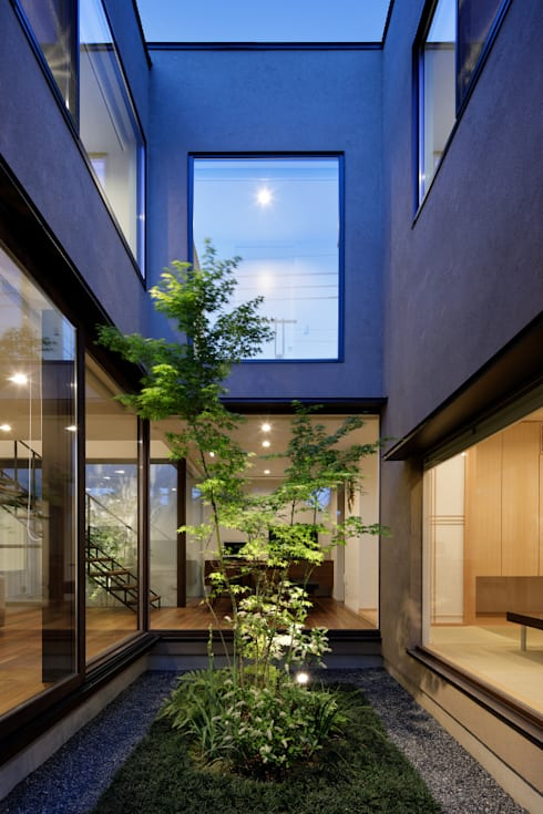 Jardines de estilo  por atelier137 ARCHITECTURAL DESIGN OFFICE