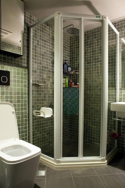 改造眷村老屋:  浴室 by 史賓宅安-Springzion