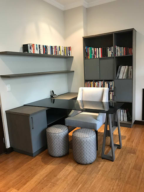 Study: modern Study/office by Candice Woodward Interiors cc
