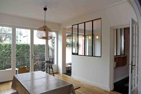 transformation d 39 une maison rennaise de atelier claire dupriez homify. Black Bedroom Furniture Sets. Home Design Ideas