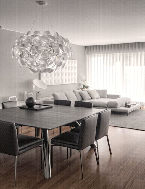 modern Dining room by INAIN Interior Design
