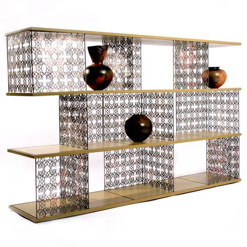 Desert rose moduler shelf: modern Living room by Egg Designs CC