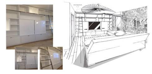 CONCEPTION d\'AGENCEMENT SUR MESURE - PERROIN Stéphanie, Architecte ...