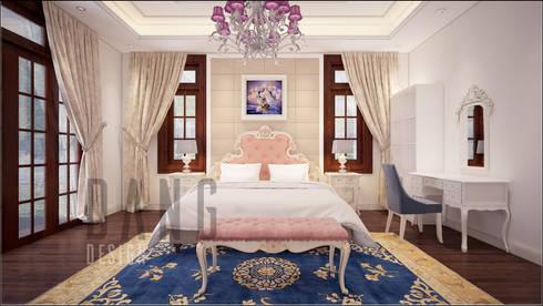 Phòng bố mẹ:  Phòng ngủ by DCOR