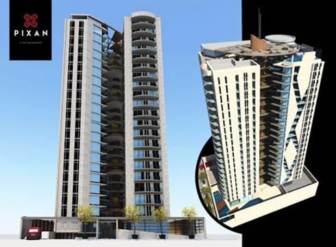 EDIFICIO PIXAN:  de estilo  por Edificio PIXAN