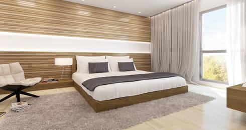 Refurbishment of a Villa in Calvia: mediterranean Bedroom by Mallorca Living Quality