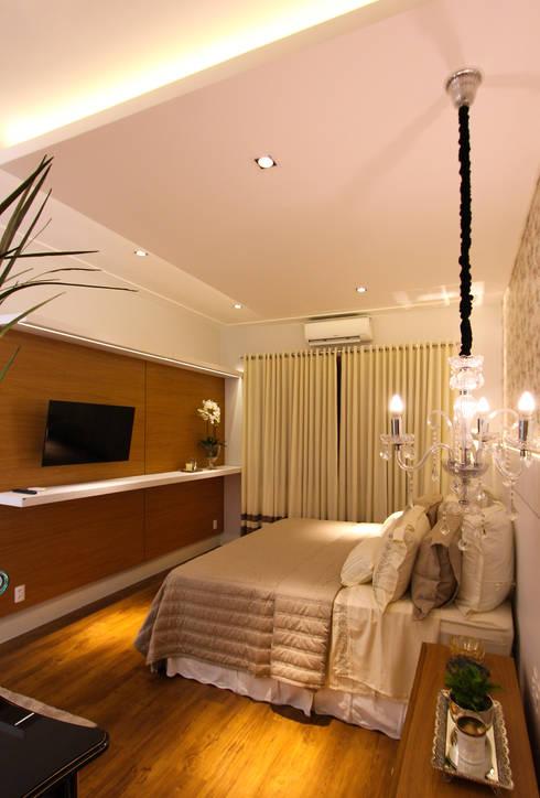 modern Bedroom by Pavesi Arquitetura