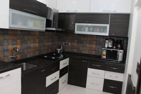 modern Kitchen by Vinayak Interior   Interior Designing and Decorator Companies