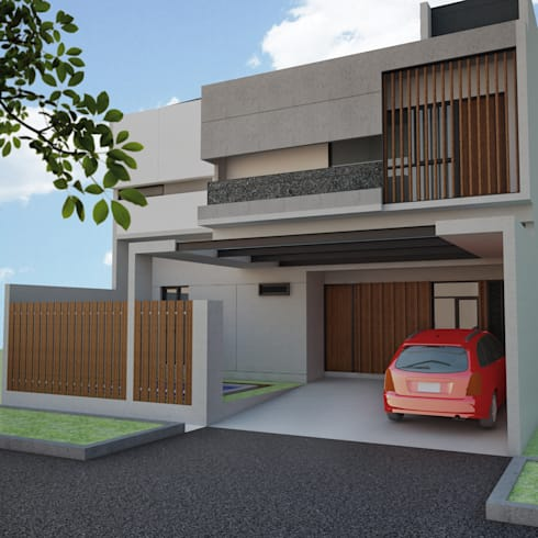 Private House BSD:   by AGRA Architecture