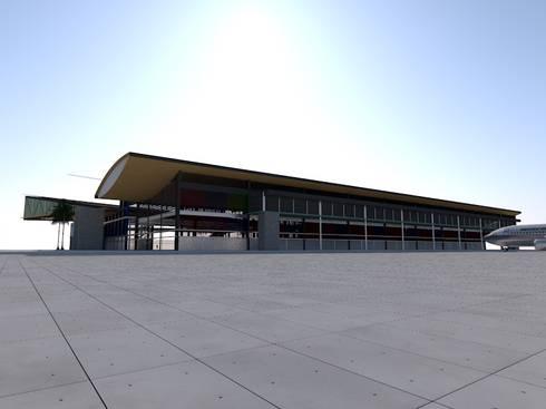 Terminal Aéreo Pucallpa, Perú (Propuesta): Aeropuertos de estilo  por MGR