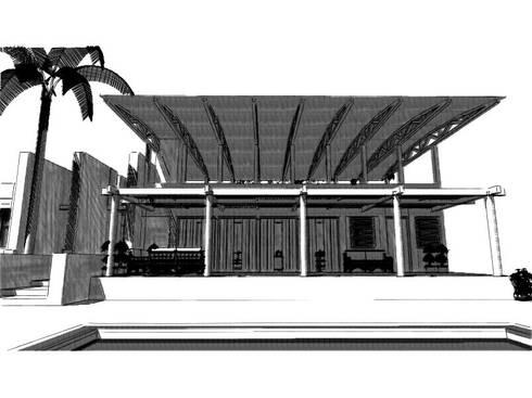 Casa de Campo, Lunahuaná, Cañete, Lima:  de estilo  por MGR