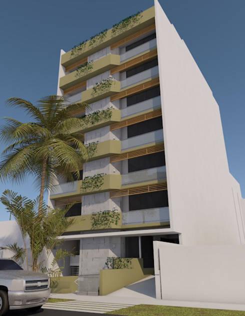 San Fernando 175, Miraflores, Lima: Casas de estilo moderno por MGR