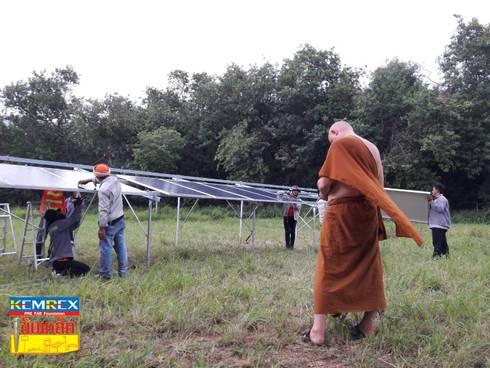 Solar cell ขนาด 9.45 kW @ อ.ปากช่อง:   by บริษัทเข็มเหล็ก จำกัด