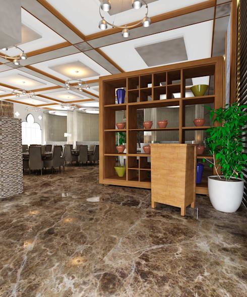 Commercial Spaces by One sq. meter Architects & Interior Designers