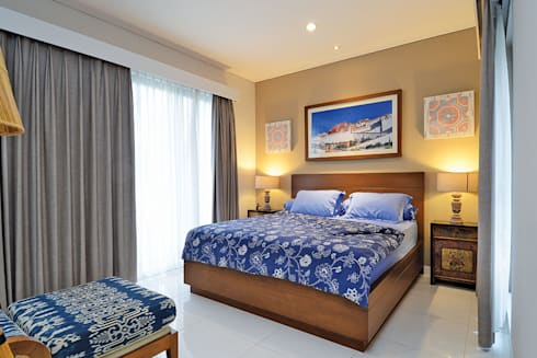 Interior Residential – Lanata 2 Residence:  Kamar Tidur by RANAH