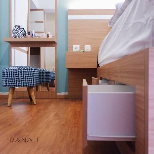 Studio Apartment – Margonda Residence 2:  Kamar Tidur by RANAH