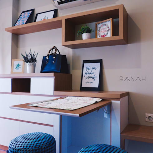 Studio Apartment – Margonda Residence 2:  Ruang Makan by RANAH