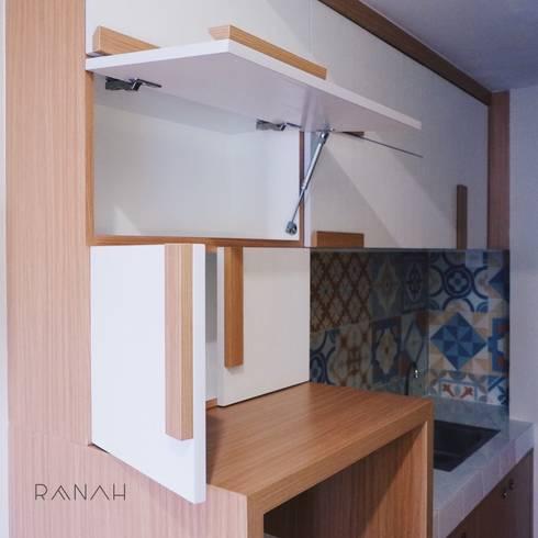 Studio Apartment – Margonda Residence 2:  Dapur by RANAH