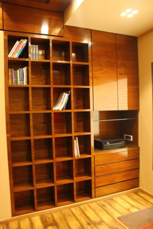 Basant Park - Chembur: modern Study/office by Aesthetica